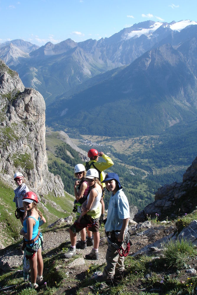Via Ferrata group