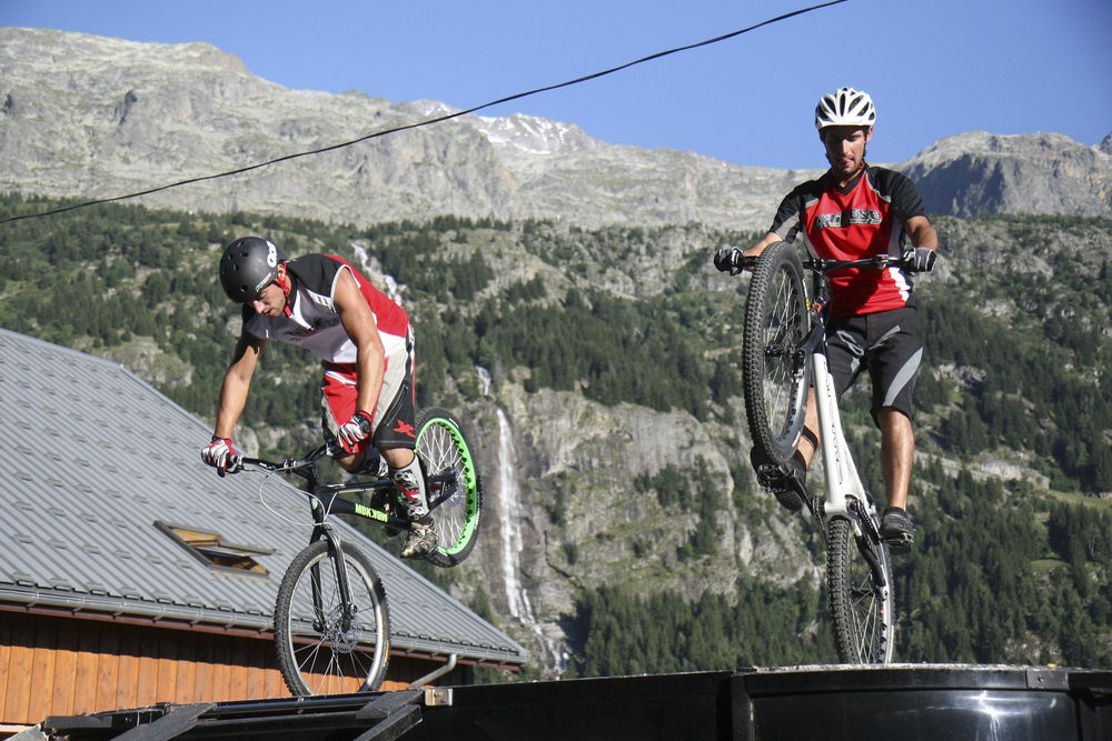 MB trial in Vaujany