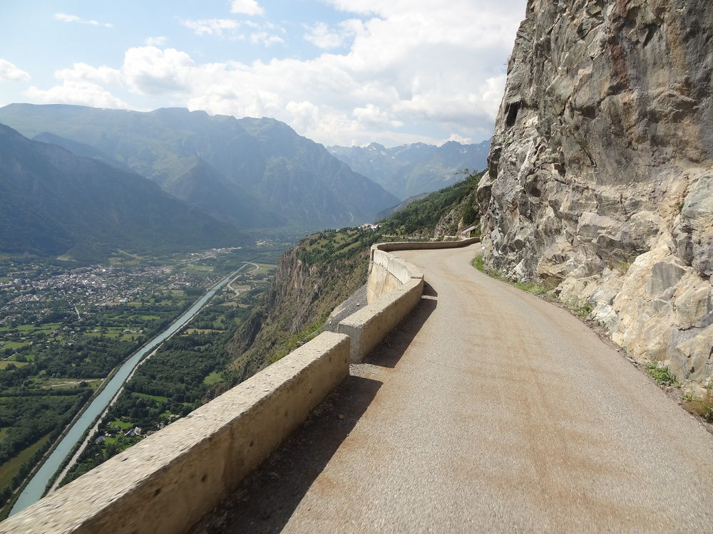 Above Bourg d'Oisans