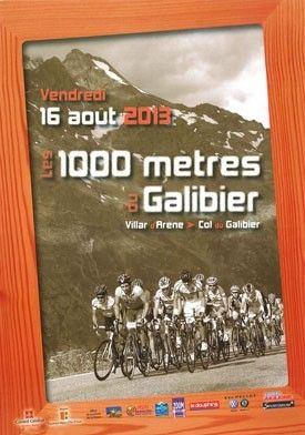 1000m of Galibier