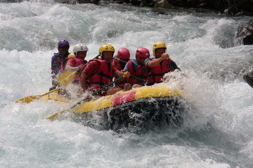 White water rafting 8